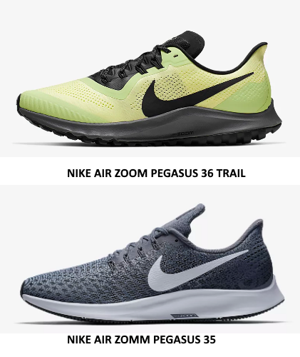 Nike Air Zoom Pegasus 36 Trial Vs Pegasus 35