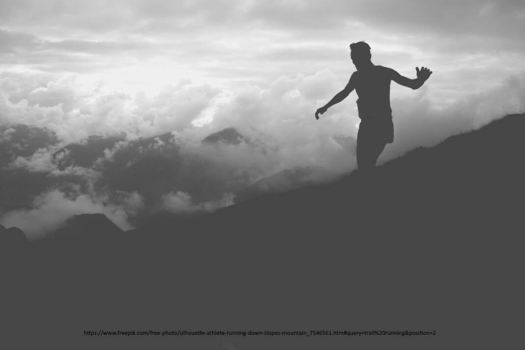 https://www.freepik.com/free-photo/silhouette-athlete-running-down-slopes-mountain_7546561.htm#query=trail%20running&position=2
