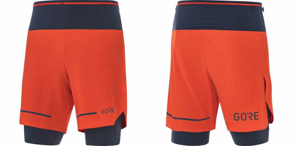 GORE WEAR Technical Running Shorts Ultimate 2 in 1
